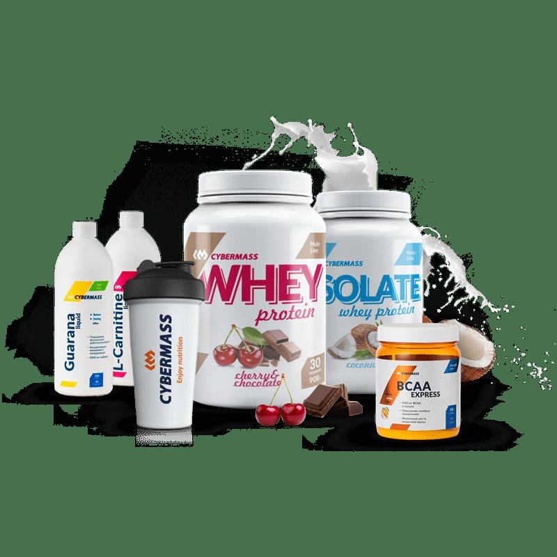 Спортивное питание CYBERMASS - бесплатный дегустационный набор