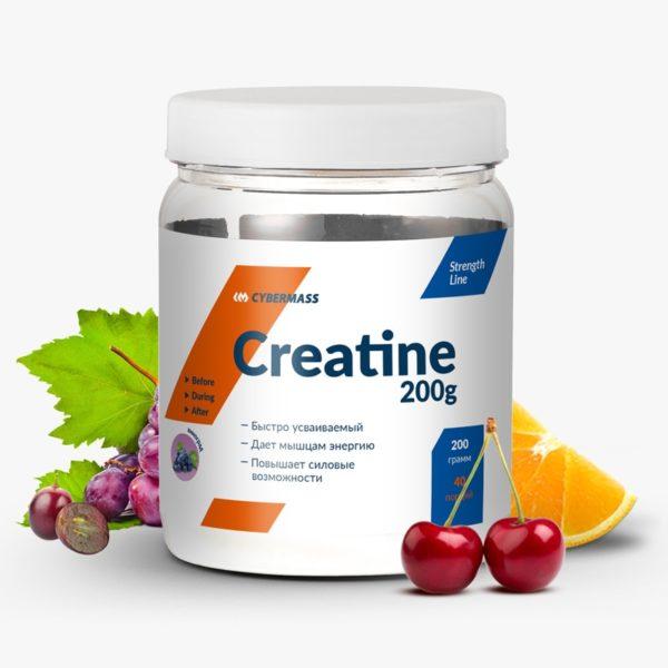 Креатин Creatine 200 г от CYBERMASS