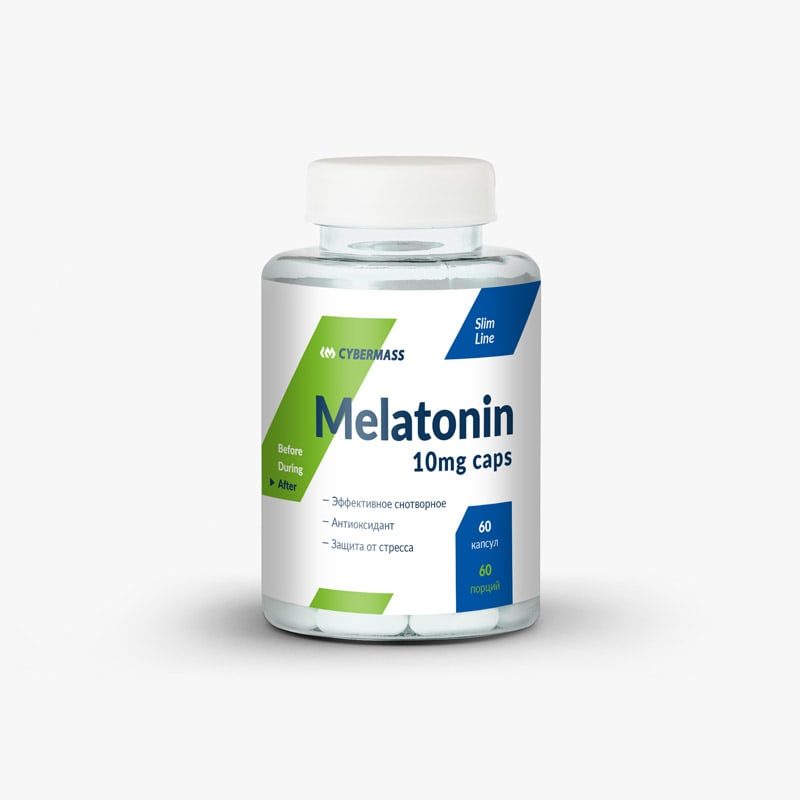 Melatonin 10 mg | Мелатонин от CYBERMASS