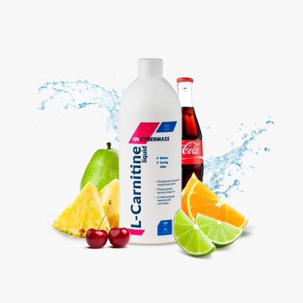 Питьевой Л-Карнитин L-Carnitine liquid от CYBERMASS