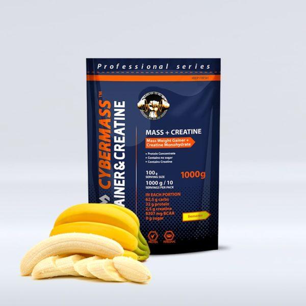 CYBERMASS Gainer&Creatine Банан