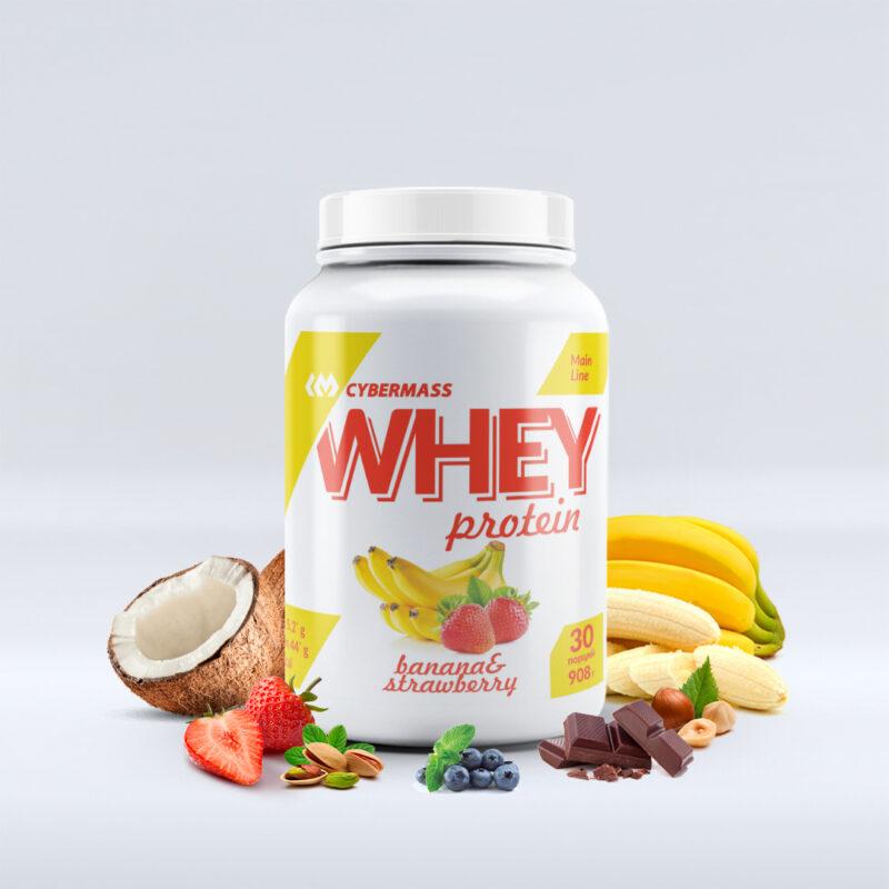 CYBERMASS Whey protein 908g