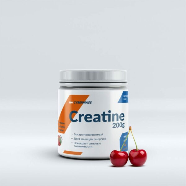Креатин CYBERMASS Creatine 200 г Cherry