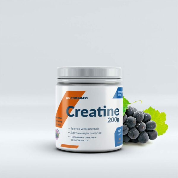 Креатин CYBERMASS Creatine 200 г Grape