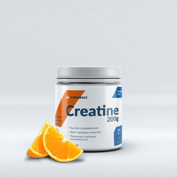 Креатин CYBERMASS Creatine 200 г Orange