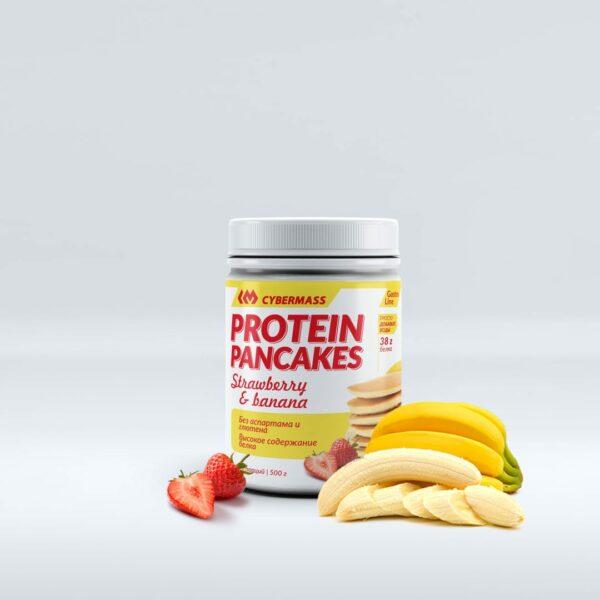 Protein Pancakes Клубника-Банан