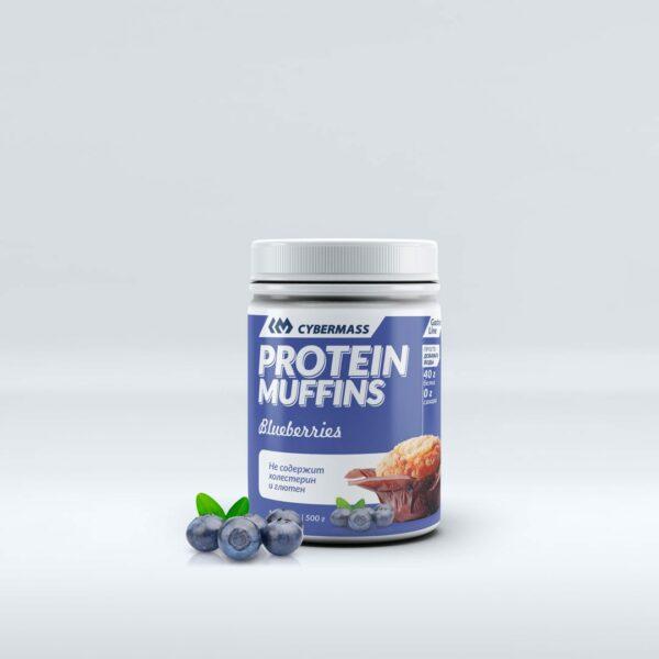 Protein Muffins Черника