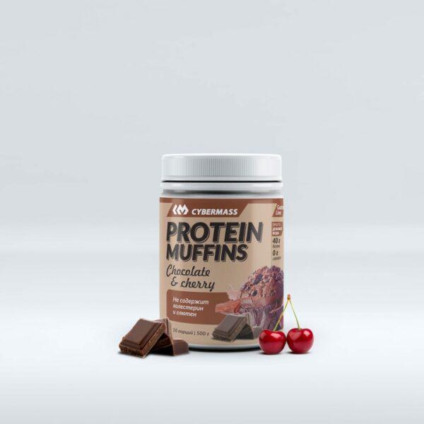 Protein Muffins Шоколад-Вишня