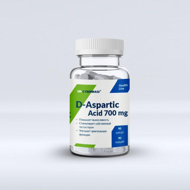 Cybermass D-Aspartic Acid 700 mg