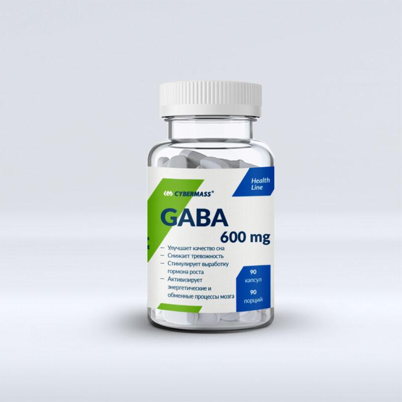 Cybermass GABA 600 mg