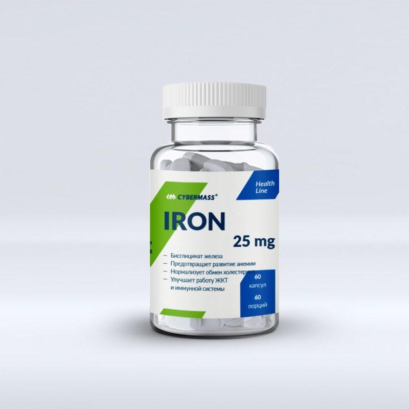 Cybermass IRON 25 mg